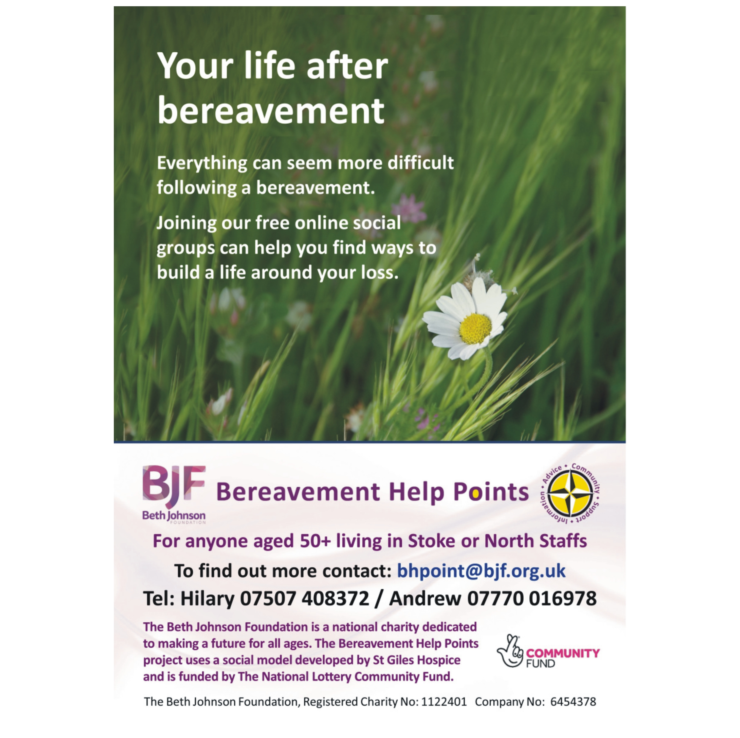 Your Life After Bereavement