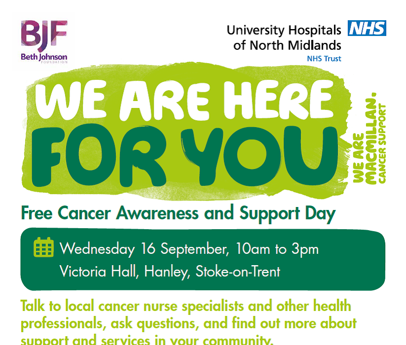 FREE Cancer Awareness and Support Day