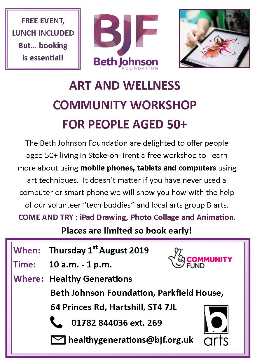 Art & Wellness Community Workshop