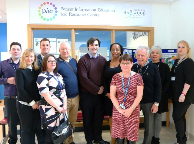 PIER showcases good practice to NHS delegation