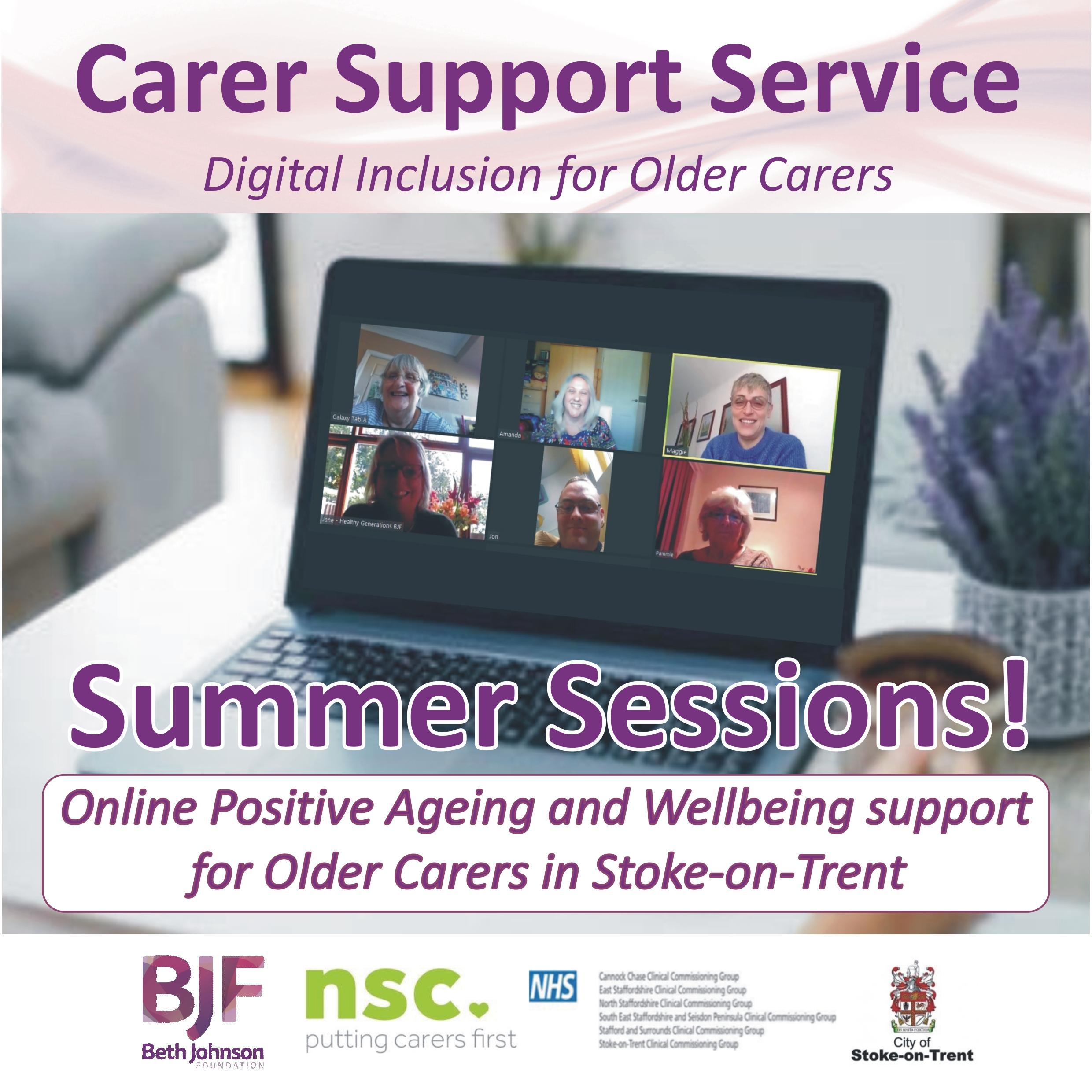 New Summer Sessions for Carers